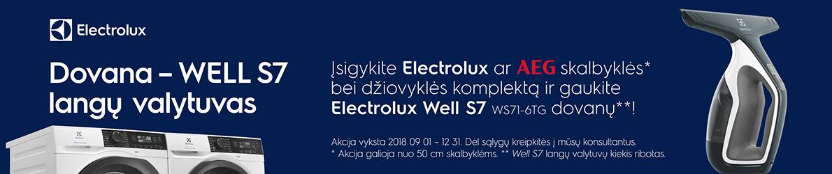 Electrolux ir AEG dovana