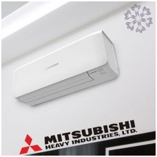 Oro kondicionierius/Šilumos siurblys Mitsubishi SRK/SRC20ZS-S 2.8/4.2 kW (PREMIUM SERIJA)